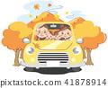 autumn, autumnal, family 41878914