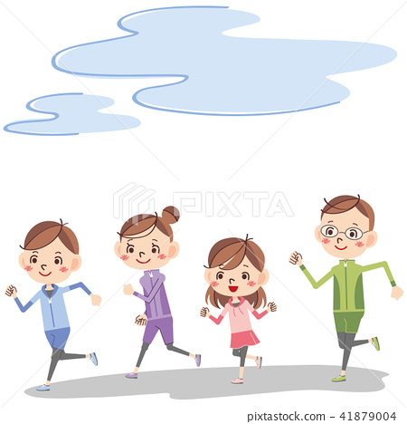 Running with family 41879004