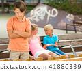 boy, friends, 8-11 41880339