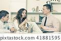 Consultation with school headmaster 41881595