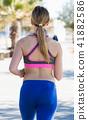 beach, female, run 41882586