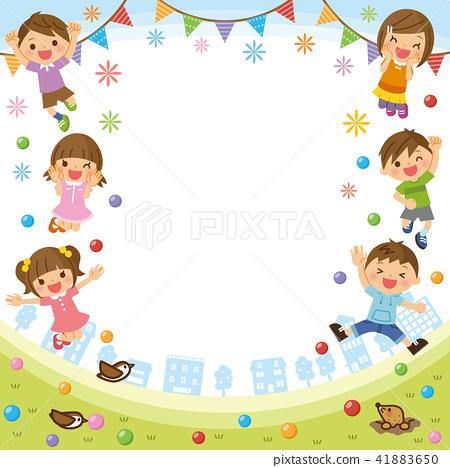 Children's frame 41883650
