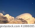 구름, 하늘, 뭉게구름 41886085