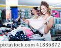 girls, shopping, basics 41886872