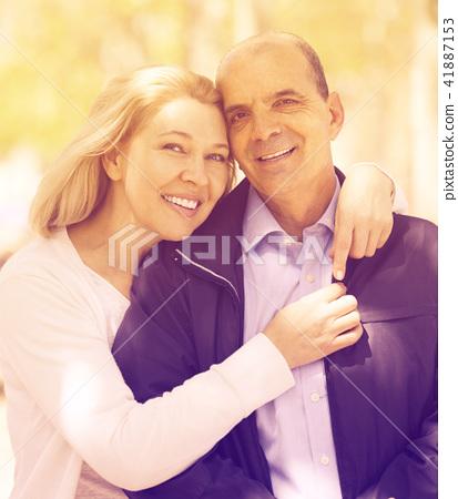 HALLIE: Outdoor mature couple