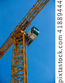 industrial construction tower cranes against  41889444