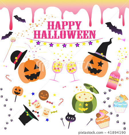 Halloween parts material 41894190