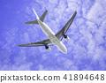 이륙하는 비행기 보잉 777-200 41894648