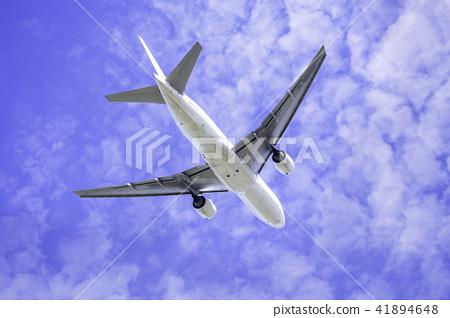 飛機起飛波音777-200 41894648