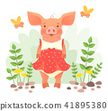 piggy in dress 41895380