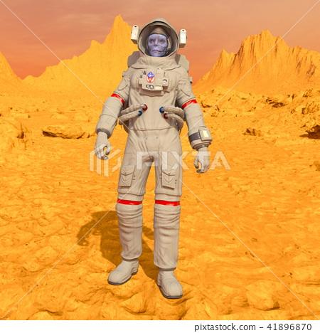 Alien Astronaut 41896870