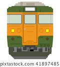 รถไฟสไตล์ดอทภาพ (115 ซีรี่ส์: สีโชนัน) 41897485
