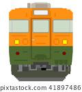 รถไฟสไตล์ดอทรูปภาพ (165 ซีรี่ส์: สีโชนัน) 41897486