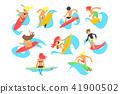 sport, activity, vector 41900502