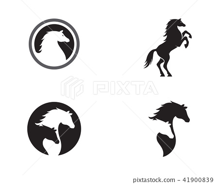 Horse Logo Template Vector icon - Stock Illustration