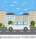 多功能旅行车 汽车 车 41902684
