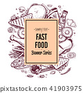 fast, food, hand 41903975