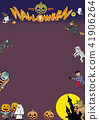 halloween, background, material 41906264