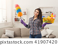 equipment, woman, cleaning 41907420