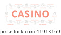 casino, gambling, line 41913169
