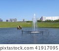 june, summer, pond 41917095