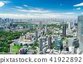 Tokyo landscape · city center · Shinjuku Ikebukuro Roppongi 41922892