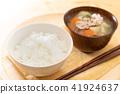pork soup, miso soup, food 41924637