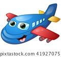 Happy plane cartoon 41927075