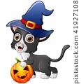 帽子 卡通 猫 41927108