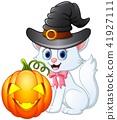 cartoon cat hat 41927111