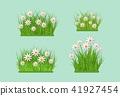 vector, green, spring 41927454