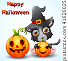 cartoon cat hat 41929025