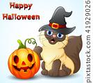 帽子 卡通 猫 41929026
