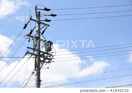 电线杆 41930216