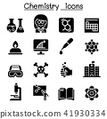 Chemistry icon set 41930334