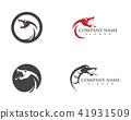 vector snake simple logo design element 41931509