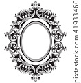 frame, mirror, vector 41933460