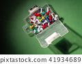 Box Of Pushpins 41934689
