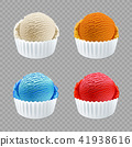 dessert, icecream, color 41938616