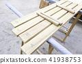 Handmade wooden xylophone 41938753