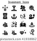 Money & Investment icon set 41938862
