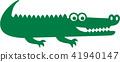 Crocodile Icon 41940147