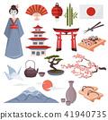 japanese symbols set 41940735