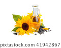 Sunflowers and sunflower oil. 41942867