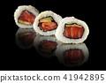 sushi, tuna, roll 41942895