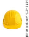 Yellow protection helmet. 41943184