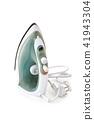Modern iron on white. 41943304