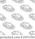 Seal Seamless Pattern walrus vector sea lion 41943764
