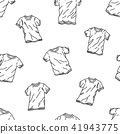 T-shirt Seamless Pattern vector tile background 41943775