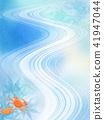 일본식 - 배경 - 종이 - 단풍 - 파랑 - 沢蟹 41947044